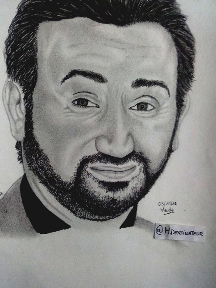 Cyril Hanouna by MisterDessinateur45
